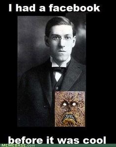 H.P. Lovecraft's original Facebook and the Dancing Goths