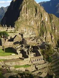 Machu Pichu is a great example of (correct me if I'm wrong) Incan Empire.