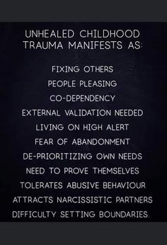 Mental And Emotional Health, Mental Health Awareness, Codependency Recovery, Inner Child Healing, Trauma Therapy, Psychology Facts, Narcissistic Abuse, Coping Skills, Motivation