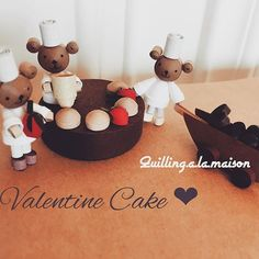 Busy, busy at Bear's Cake Shop before Valentine's Day…