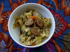Beer-Braised Kielbasa and Cabbage