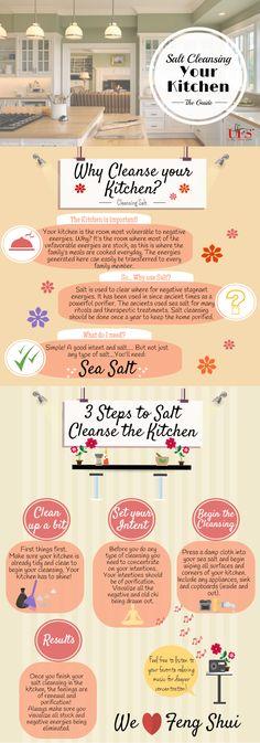 Salt Cleansing the Kitchen - Unique Feng Shui