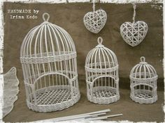 Фотографии handmade with love by irina kedo Newspaper Basket, Newspaper Crafts, Willow Weaving, Basket Weaving, Cage Deco, Diy Paper, Paper Art, Diy Home Crafts, Arts And Crafts