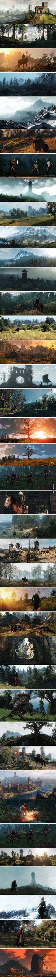 Stunningly Beautiful Witcher 3 Screenshots