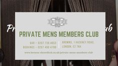 Do you want to know about five secrets of private mens clubs? These private clubs are unique and have their own secrecy to offer you a relaxing spot with your beloved people around you. Private Club, The Secret, Unique, People, Men, People Illustration, Folk