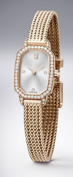 But silver!! TimeZone : Industry News » N E W M o d e l - Harry Winston Emerald Collection