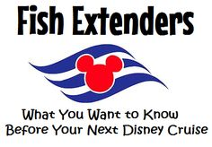 Disney fans love to show their spirit by decorating their Disney Cruise stateroom doors & participating in Fish Extender Gift Exchanges.