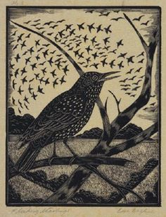 Eric Fitch Daglish  (English, 1892-1966). (wood engraving)