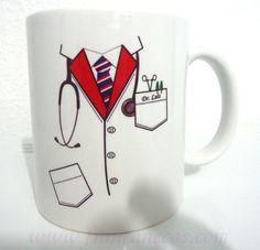 For your favorite doctor Glass Painting Designs, Paint Designs, Mug Designs, Diy Doctor, Doctor Gifts, Medical Symbols, Medical Art, Sharpie Crafts, Sharpie Art