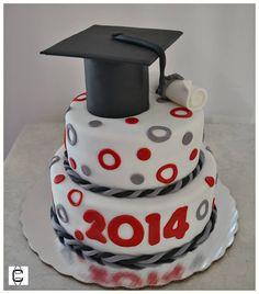 FONDANT GRADUATION CAKE IDEAS / GRADUATION PARTY IDEAS / PASTELES DE GRADUACION / FIESTA DE GRADUACION Fondant, Food And Drink, Graduation Cake, Senior Year, Cake Ideas, Desserts, Party Ideas, Decorating Cakes, Tortilla Pie