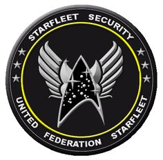 Here is a star fleet insignia with wings, sorta a hybrid between the brothers of steel and starfleet