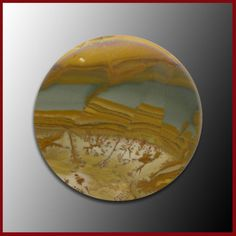 OWY121cc Owyhee Picture Jasper Collector Cabochon