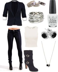 """Casual professional businesswoman"" by victorialovie ❤ liked on Polyvore"