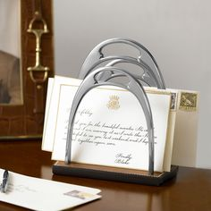 Kelvin Stirrup Letter Rack - Desk Accessories Decorative Accessories - RalphLauren.com