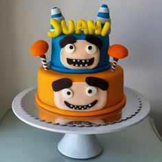 OddBods cake by @eva_ks