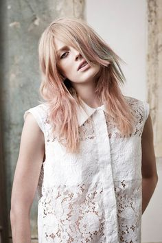 Matte Hair Color for 2014-2015 Hair Trends