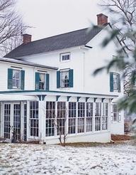 dream farmhouse enclosed porch - Google Search