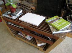 Cardboard Coffee Table by Nicole Levy, via Behance