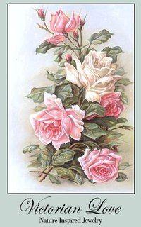 Really love what JosSecret is doing on Etsy. Vintage Rosen, Art Vintage, Decoupage Vintage, Decoupage Paper, Vintage Cards, Vintage Postcards, Vintage Prints, Art Floral, Floral Prints