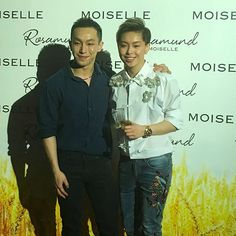 Tiffany Chan supports her brother Harris ahead of Moiselle's 20th Anniversary fashion show #moiselle #fashion  via HONG KONG TATLER MAGAZINE OFFICIAL INSTAGRAM - Celebrity  Fashion  Haute Couture  Advertising  Culture  Beauty  Editorial Photography  Magazine Covers  Supermodels  Runway Models