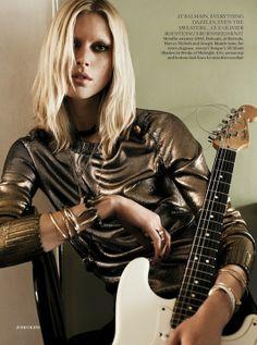UK Vogue August 2013