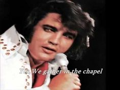 Elvis Presley - Crying In The Chapel   with lyrics