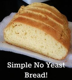 I love making all types of breads but sometimes I am just not in the mood to wait 5 hours for my breads to proof with yeast, especially in the summer time! I just don't have the energy…