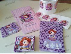 Identikid,  Stickers y emboltorios para golosinas- Princesita Sofia- todo personalizado Hacemos todos los personajes- Diseñamos la imagen integral de tu fiesta. www.facebook.com/identikid