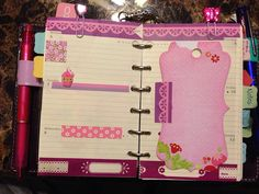 Filofax pages for next week by ladyfilo, via Flickr