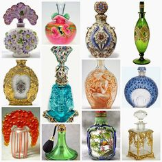 The Jewelry Lady's Store: Beautiful Perfume Bottles, Which Is Your favorite?...