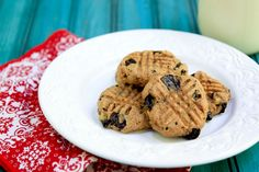 banana chocolate chunk almond butter cookies. gluten-free, no sugar added and vegan!