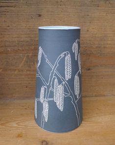 I'm already looking forward to spring: buds, blossom and catkins. . . . . #ceramics #stoneware #sgraffito #vase #birch #catkins #betulapendula #nativetrees #handmade #shopsmall #buylocal #perfectgift #interior #lifestyle #cremerging