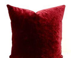 BNWT Burgundy wine pillow case