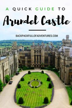 Love castles and palaces? Here's everything you need to know about visiting West Sussex's Arundel Castle: http://www.backpackfullofadventures.com/posts/exploring-england-arundel-castle/