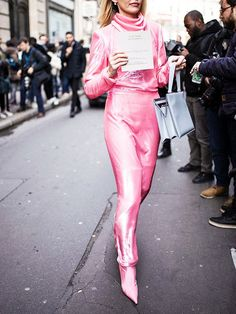 Haute Couture Fashion Week street style looks are coming in, and they're just as glam and inspirational as ever. Click in to see the best.