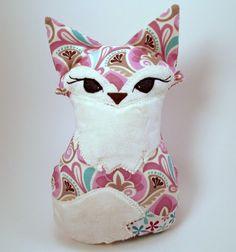 Foxy Plush Fox. $29.00, via Etsy.