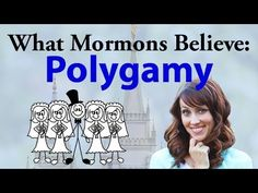 What Mormons Believe: Polygamy. God does not approve of Polygamy www.theromanroad.org  #LDS
