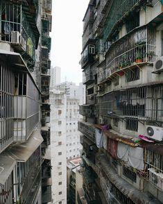 High-rises buildings in Hong Kong