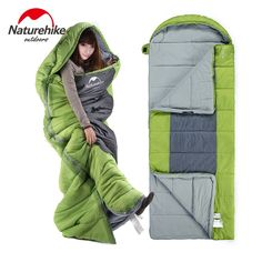 63.00$  Buy here - http://alirtd.worldwells.pw/go.php?t=32791143747 - Naturehike Sleeping Bag Cotton Lining Sleeping Bags keep warm Bag NH Waterproof 230 * 90cm 3 Seasons Camping big Sleeping Bag 63.00$