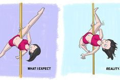 11 Reasons Why Pole Dancing Is Not As Easy As It Looks.