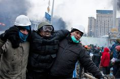In pictures: Kiev's deadly clashes