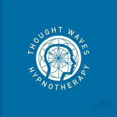 Logo design for Thought Waves Hypnotherapy, NZ World Religions, Hypnotherapy, Volkswagen Logo, Page Design, Deities, Pagan, Fonts, Waves, Graphic Design