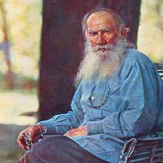 """""""Without knowing what I am and why I am here life is impossible."""" - Leo Tolstoy #leotosltoy #annakarenina #warandpeace  Existem muitas formas de ler Livros. Visite agora o blog Mundo de Livros em http://ift.tt/1Tp9kHX"""
