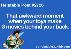 Omg I hate that! I told them to stop after the sequel, but noooooo...