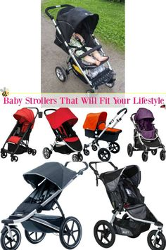 Baby Strollers That Will Fit Your Lifestyle via @beautybymissl  #babystrollers #strollers via @beautybymissl