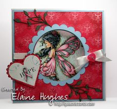 "You may have heard that some of Sylvia Zet's ""Wee Stamps"" digital images have now been released in yummy rubber by Whimsy Stamps.  They are available in the UK, at Quixotic Paperie in the Whimsy Stamps section! Today I have a card to share featuring one of the new stamps – Silver Fairy – she's …"