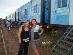 Tren de Desarrollo Social y Sanitario Eva Perón en Coronel Mollinedo, Salta