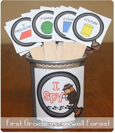 See how I Spy, Brain Breaks, and Read the Room come together in this shapes activity!
