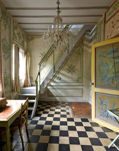 Thierry Bosquet's home at the outskirts of Brussels. Another dream's interior decoration. So luxurious.