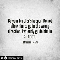 "27 Likes, 1 Comments - The GO Mens Ministry (@thegomensministry) on Instagram: ""Fellas be sure to join The Man Cave! #Repost @theman_cave ・・・ We all have those brothers, sons,…"""
